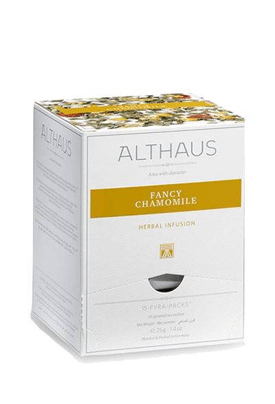 Чай Althaus Fancy Chamomile Pyra-Pack, 15*2,75