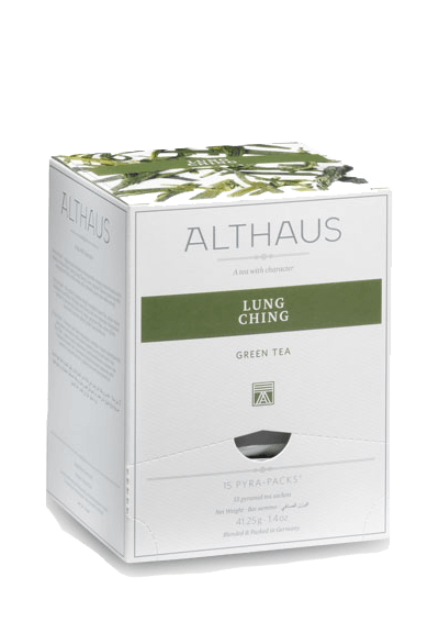 Чай Althaus Lung Ching Pyra-Pack, 15*2,75