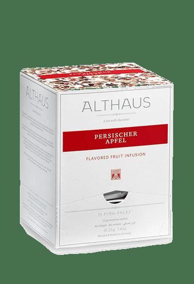 Чай Althaus Persischer Apfel Pyra-Pack, 15*2,75