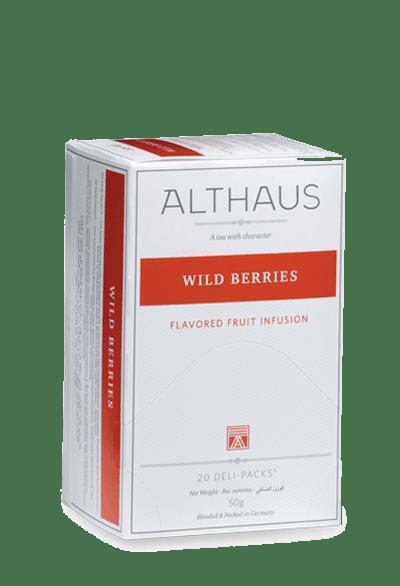 Чай Althaus Wild Berries Deli Pack, 20*2.5
