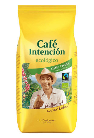 Кофе в зёрнах Darboven Intencion Ecologico Crema, 1кг