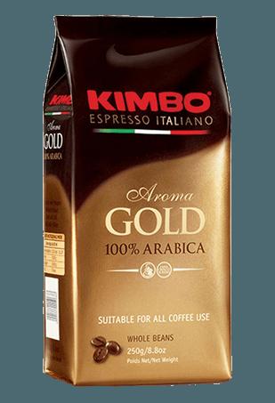 Кофе в зернах Kimbo Aroma Gold 100% Arabica