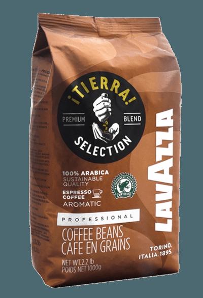 Lavazza Tierra, кофе в зернах, 1 кг