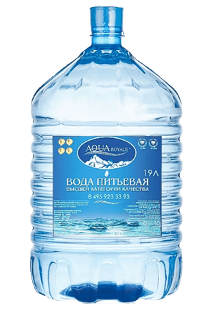 Вода Aqua Ryale одноразовая 19л
