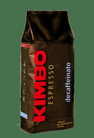Кофе в зернах без кофеина Kimbo Decaffeinato, 500 г