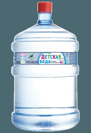Вода для детей Черноголовская высшей категории 19л