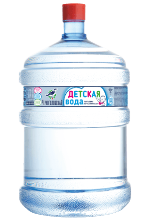 Вода для детей Черноголовская 19 л