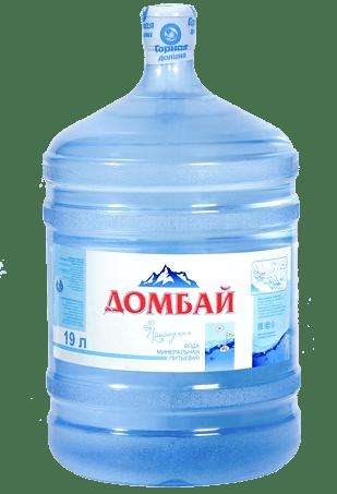 Вода Домбай минеральная 19 литров