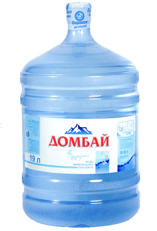 Питьевая вода Домбай 19л