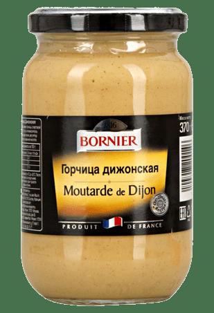 Горчица Дижонская, BORNIER Dijon Senf, 370 г