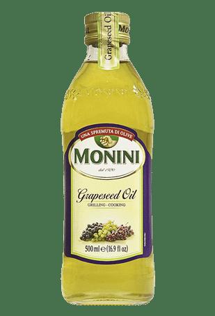 """Масло из виноградных косточек """"Grapeseed Oil"""", МОНИНИ, 0.5л"""