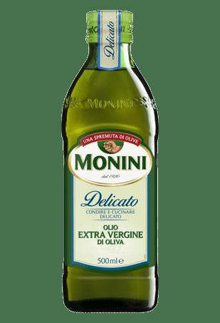 Масло оливковое «Экстра Вирджин», МОНИНИ «Delicato», 0.5л