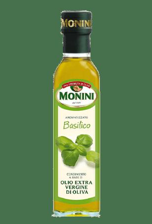 Масло оливковое Экстра Вирджин Базилик, МОНИНИ, 0.25л