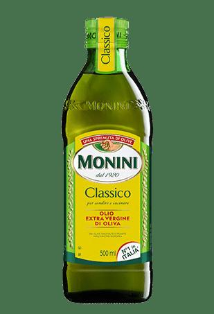 Масло оливковое Extra Virgin, Monini Classico, 0.5л