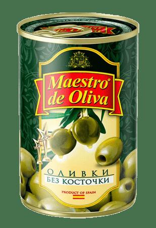 Оливки Маэстро дэ Олива б/к, 300 г