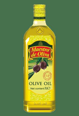 Оливковое масло 100%, Maestro de Oliva, 1л.