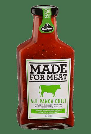 """Соус томатный с перцем Чили и кинзой, KUHNE """"Made for Meat"""" Aji Panca Chili, 375 мл"""