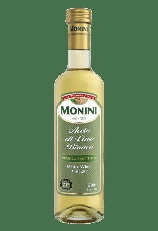 Уксус белый винный, «Monini» White wine vinegar, 500мл