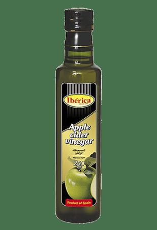 Уксус яблочный «Apple cider vinegar», «IBERICA», 0,25 л