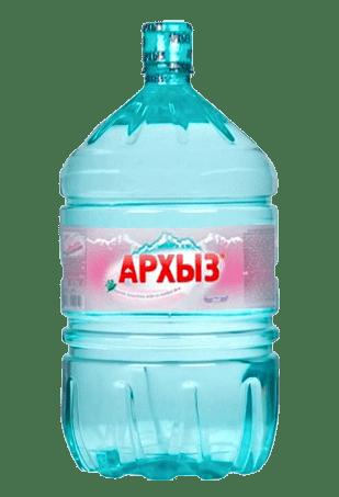 Вода Архыз 19 литров в одноразовой таре