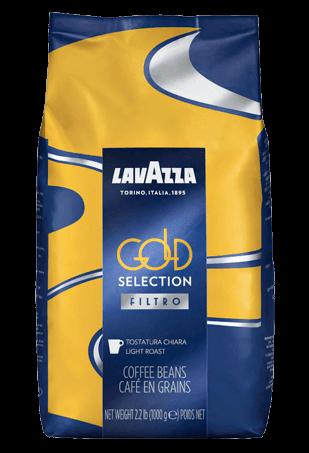 Lavazza Gold Selection Filtro, кофе в зернах, 1 кг