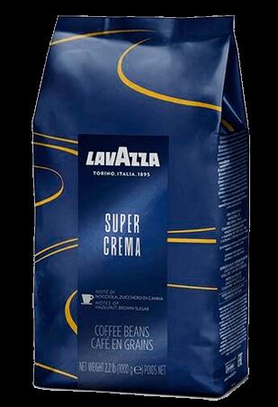 Lavazza Super Crema, кофе в зернах, 1 кг