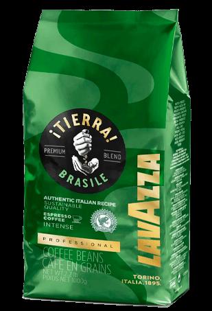 Lavazza Tierra Brasile, кофе в зернах, 1 кг