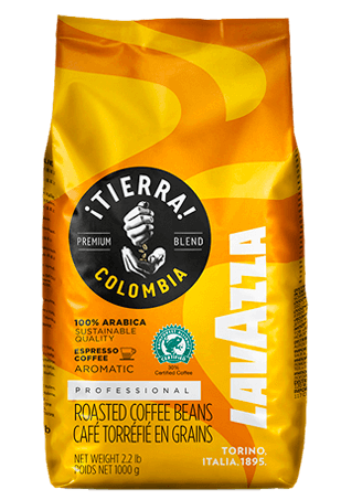 Lavazza Tierra Colombia 100% Arabica, кофе в зернах, 1 кг