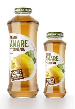Айвовый сок прямого отжима с добавлением яблочного сока, 250 мл