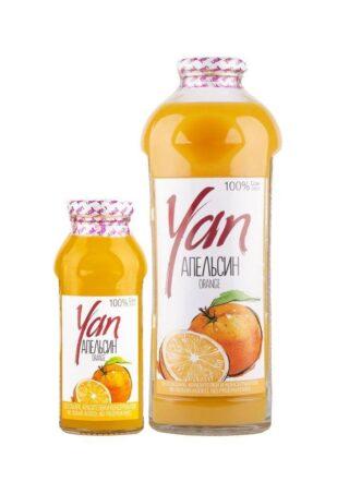 Апельсиновый сок восстановленный, 250 мл