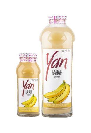 Банановый сок восстановленный, 930 мл