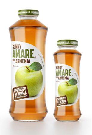 Яблочный сок прямого отжима, 250 мл