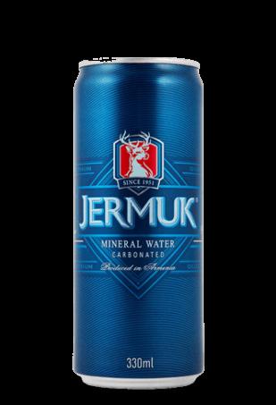 Минеральная лечебно-столовая вода Джермук, 0.33л ж/б упаковка 12 банок