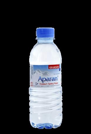 Родниковая вода Aparan 0.33л пэт/упаковка 12 бут