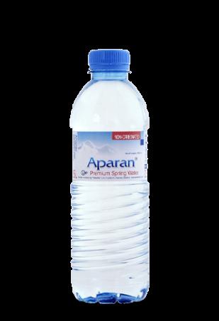 Родниковая вода Aparan 0.5л пэт/упаковка 12 бут