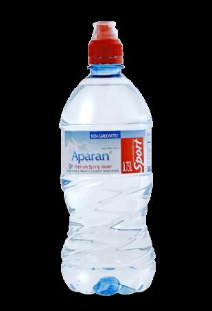 Родниковая вода Aparan 0.75л спорт/упаковка 6 бут
