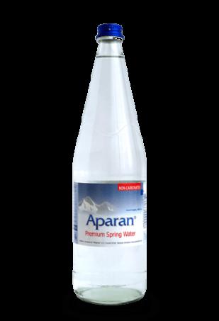 Родниковая вода Aparan 1л сткл/упаковка 6 бут